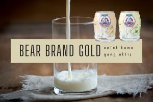 review susu bear brand gold untuk kamu yang aktif