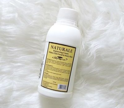 naturale brightening cream bleaching lotion