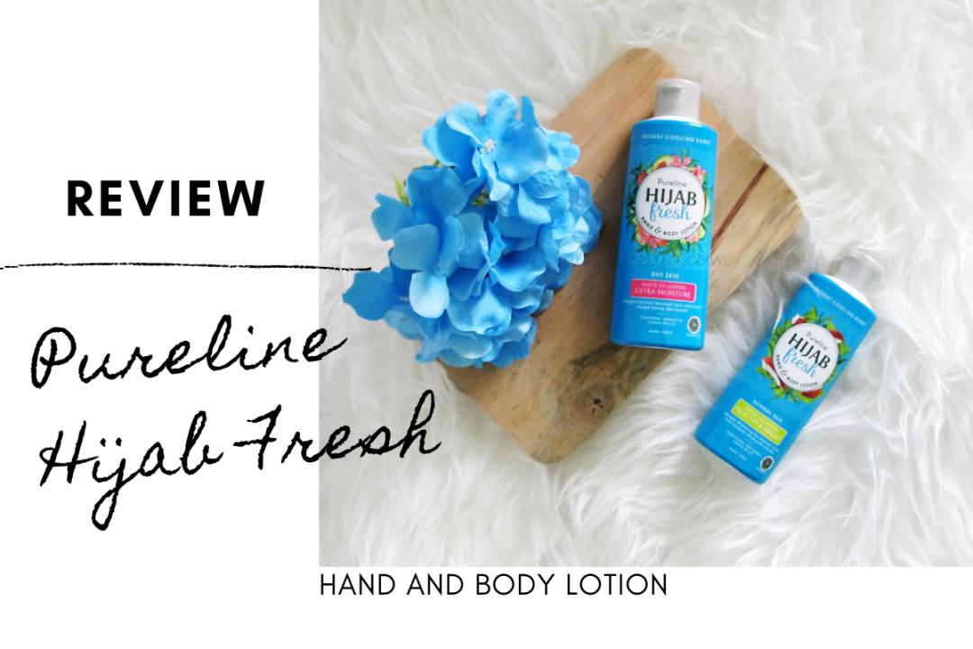 Pureline Hijab Fresh Body Lotion