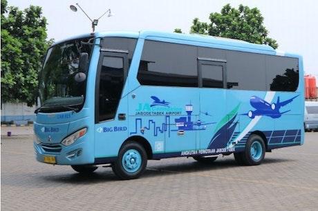 Cara mudah ke bandara Soekarno Hatta dengan Big Bird bus