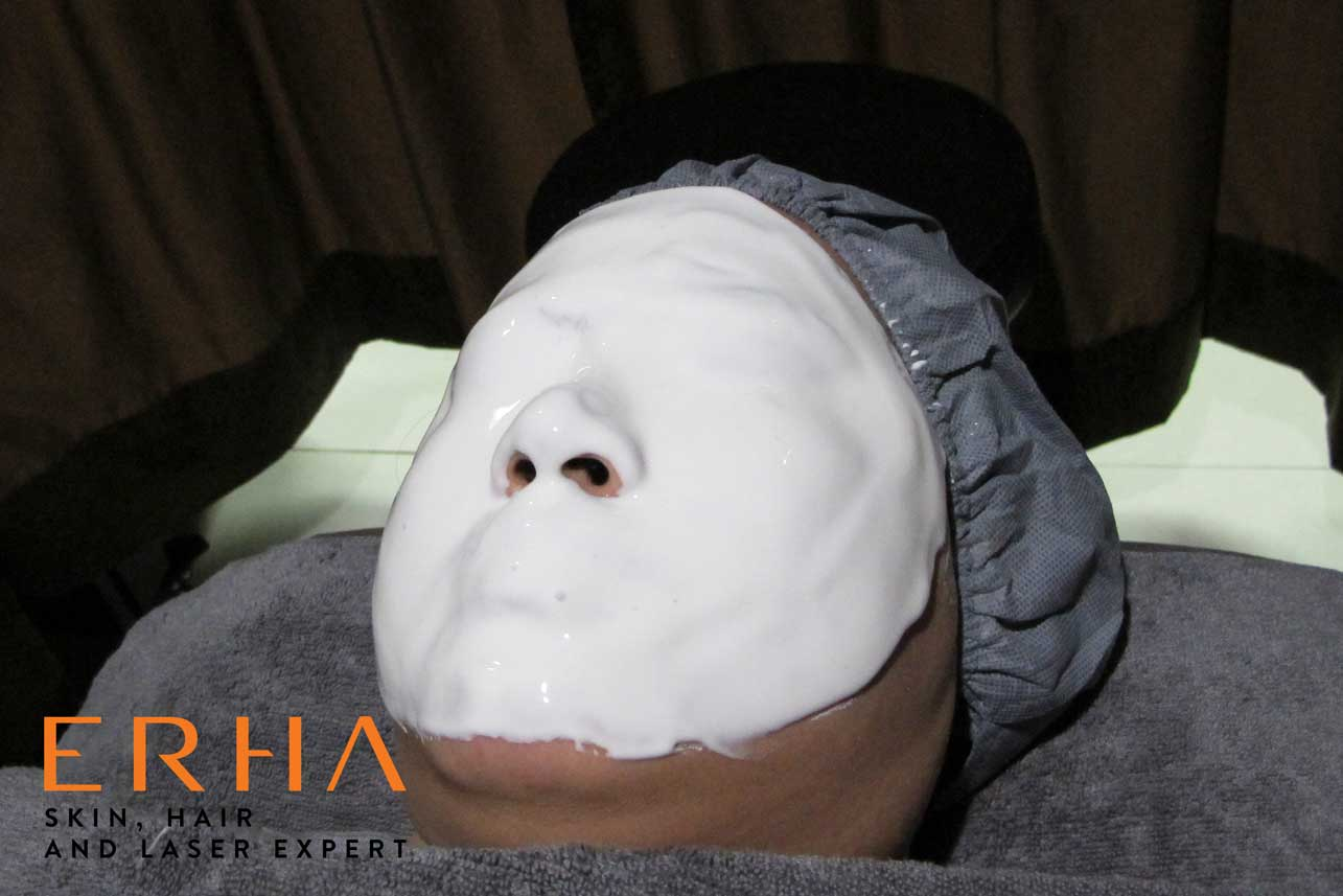 Masker peel off facial Signature DPCT