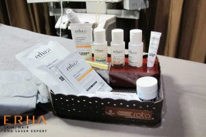 Produk skincare yang digunakan dalam facial Signature DPCT
