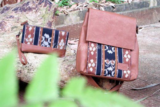 tas dan dompet kain tenun ikat Jepara
