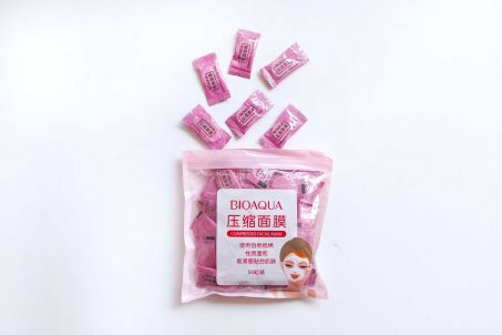 Bioaqua compressed face mask review