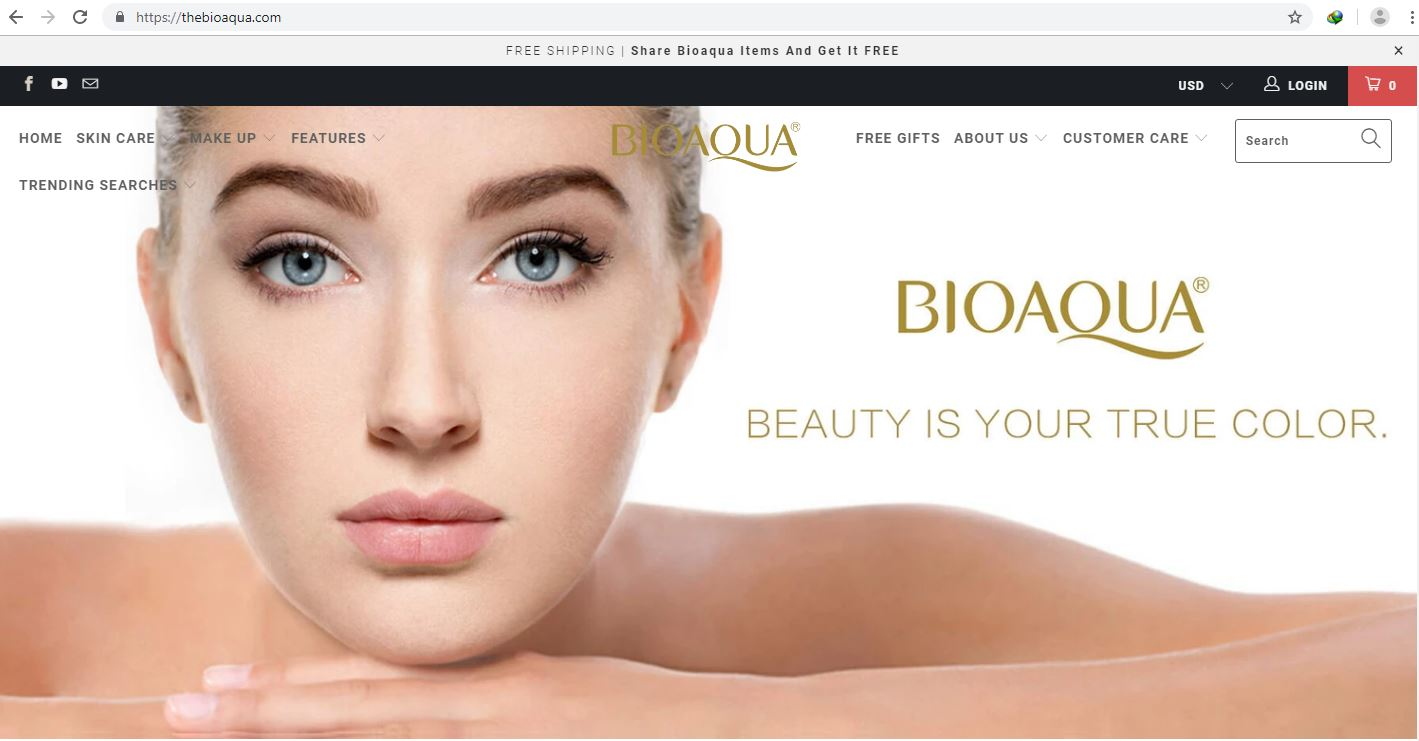 bioaqua website
