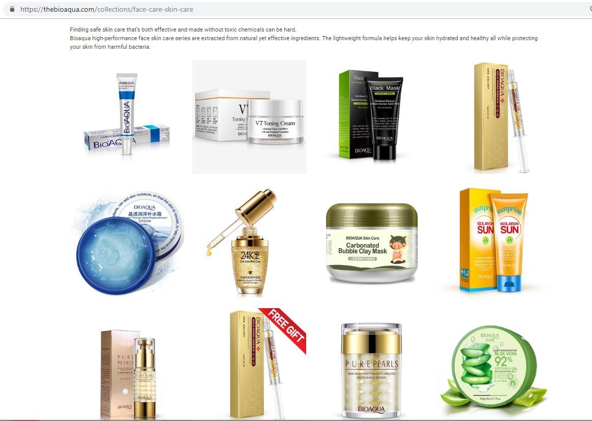 produk skincare bioaqua