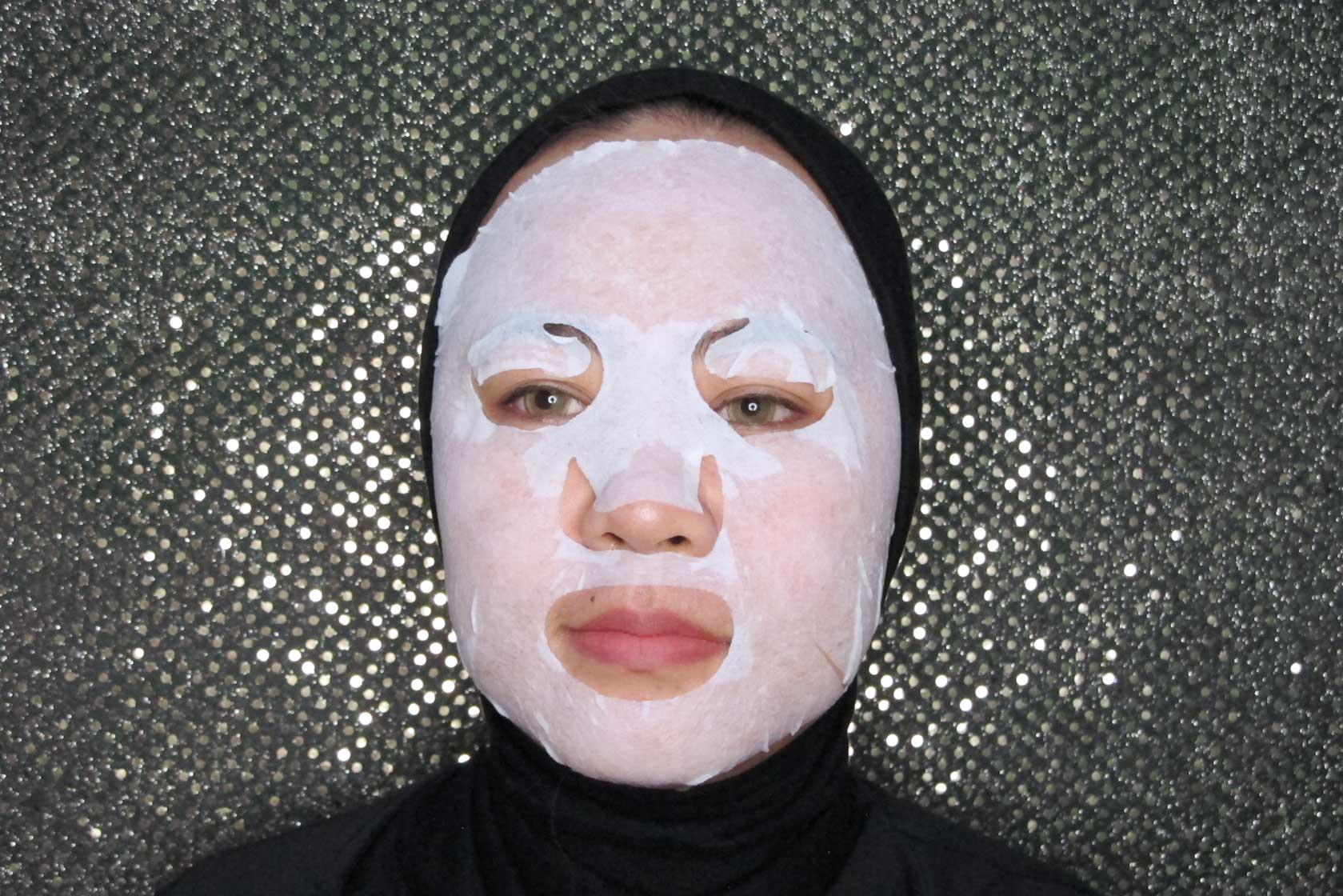 cara pakai bioaqua compressed face mask