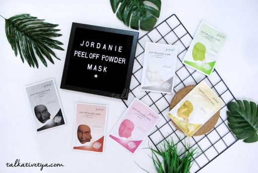 Jotdanie peel off powder mask review