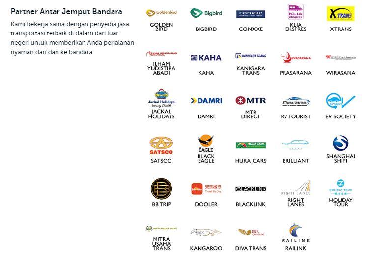 partner layanan transportasi bandara Traveloka
