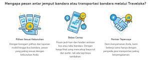 kelebihan layanan antar jemput bandara Traveloka