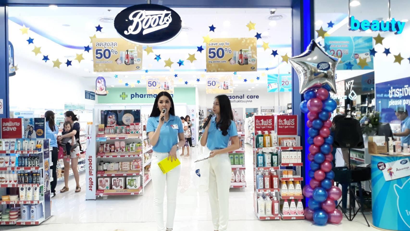 Boots Thailand, tempat belanja skincare makeup
