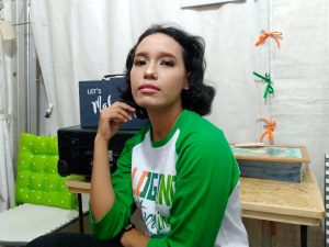 hasil make over blogger Nurul Dwi Larasati