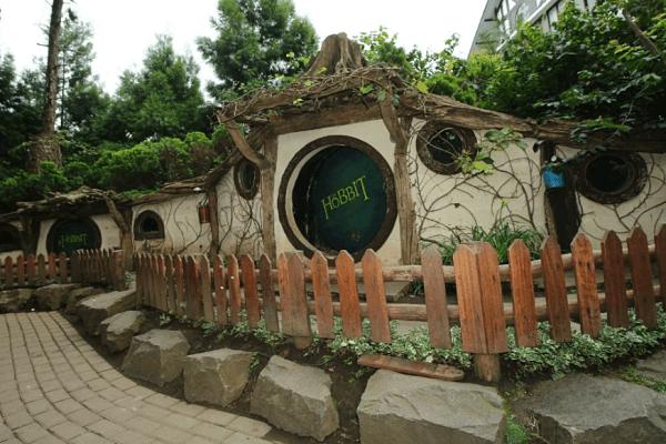 Farm House Lembang Rumah Hobbit