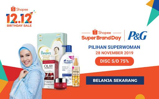 Shopee Super Brand Day P&G