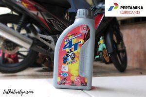pelumas mesin motor terbaik pertamina