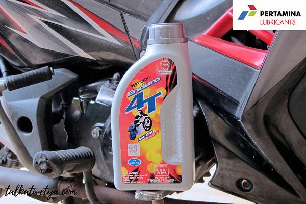 Oli motor terbaik pertamina Enduro