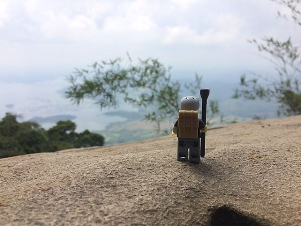 Pemandangan di Gunung Lembu Purwakarta