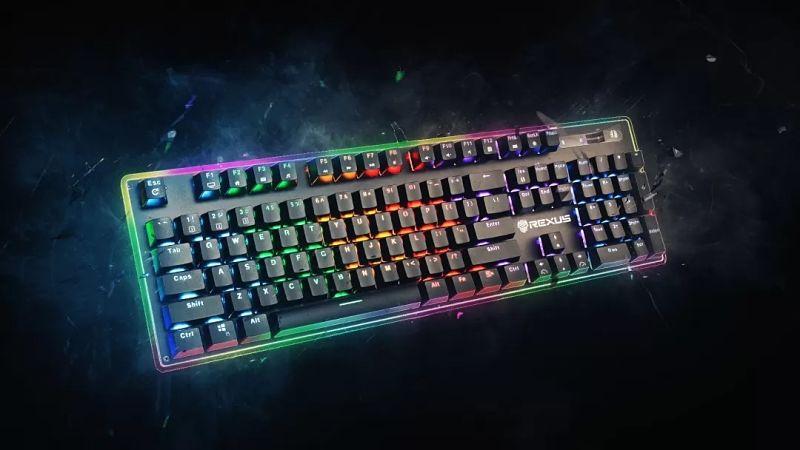 Keyboard gaming dengan fitur canggih