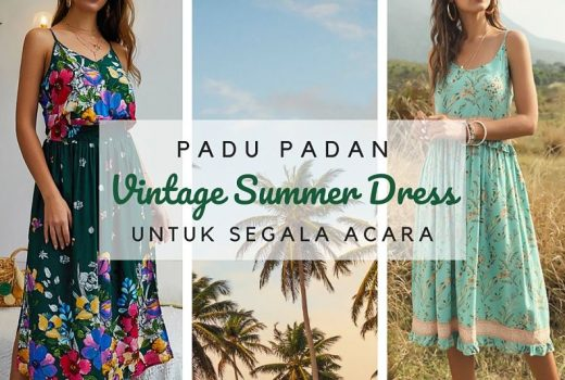 padu padan vintage summer dresses untuk segala acara