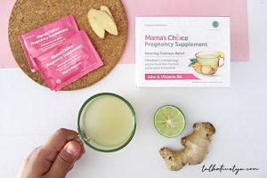 mengatasi mual saat hamil dengan mama's choice supplement pregnancy