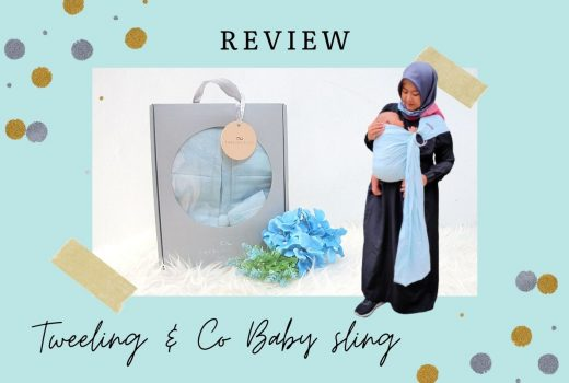 review gendongan bayi tweeling & co