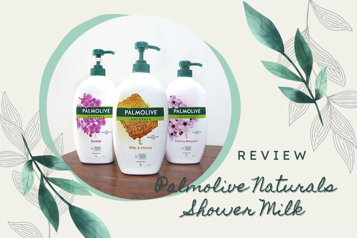 palmolive naturals shower milk sabun mandi keluarga
