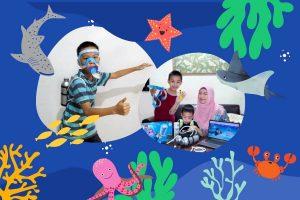 paddle pop seaventure wisata virtual dunia bawah laut bersama jakarta aquarium