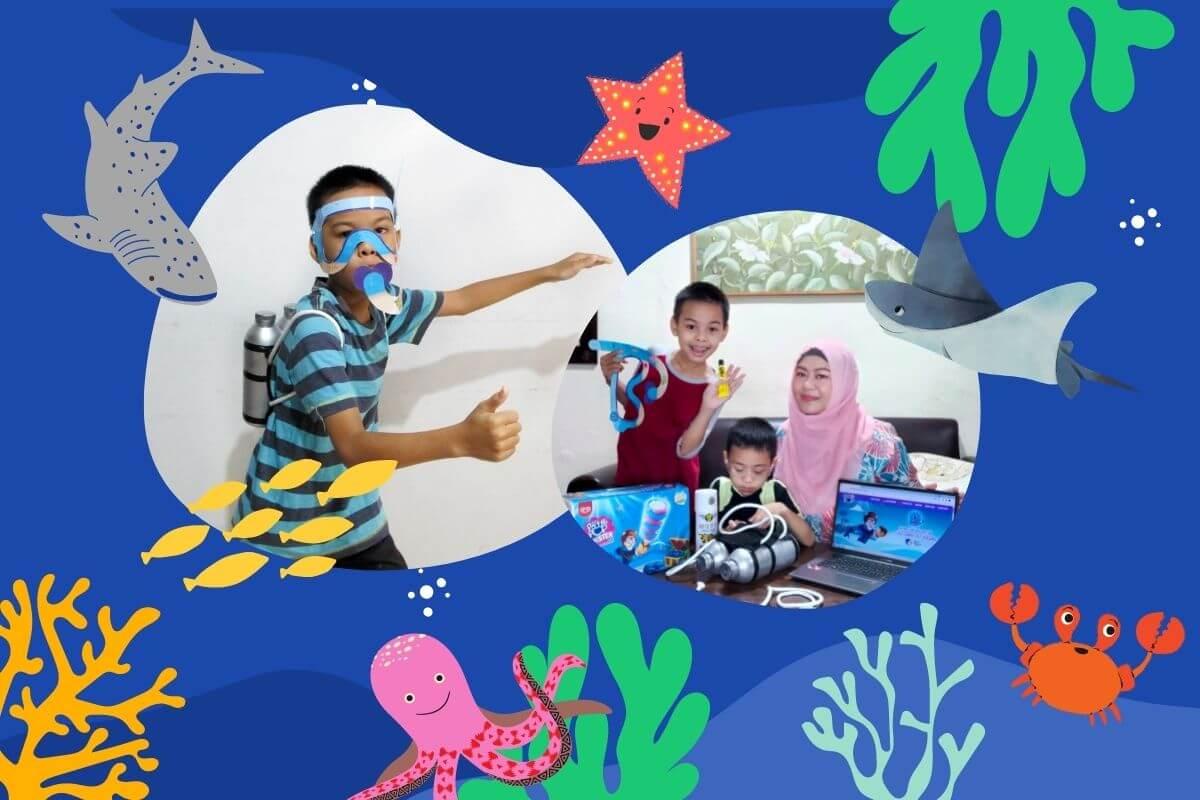 paddle pop seaventure wisata virtual dunia bawah laut jakarta aquarium